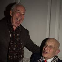 Simon Callow and Naim Attallah