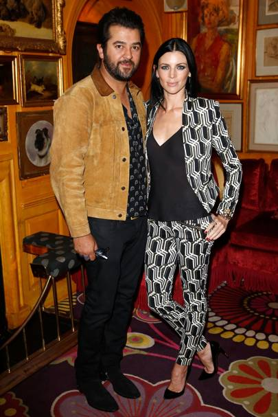 Ali Fatourechi and Liberty Ross