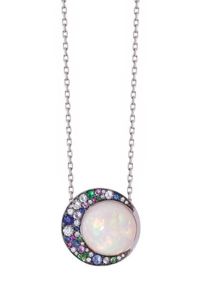 Opal and diamond necklace, £5,000, Noor Fares