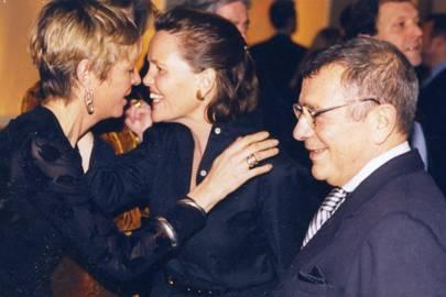 Annie Stevens, Mrs Joseph Ettedgui and Joseph Ettedgui