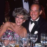 Mrs William Buckley and Oscar de la Renta
