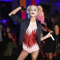 Poppy Delevingne as Harley Quinn, 2015