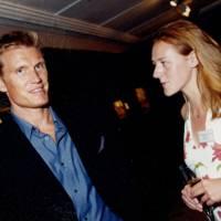 Dolph Lundgren and Hermione Graham-Cloete