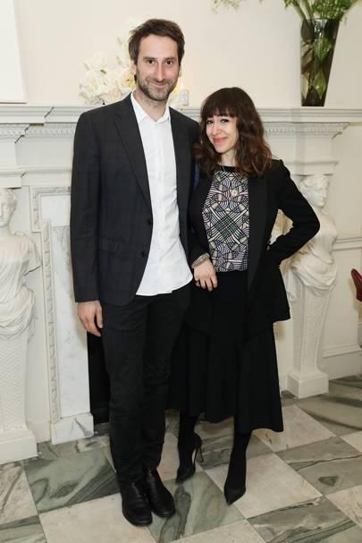 Idris Khan and Annie Morris