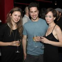 Hannah Murray, Ben Schiffer and Emily Taaffe