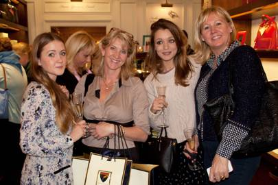 Ishbel Lohman, Caroline Greenhalgh, Cressida Stewart and Helen Putter