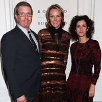Marc Glimcher, Andrea Glimcher and Mollie Dent-Brocklehurst
