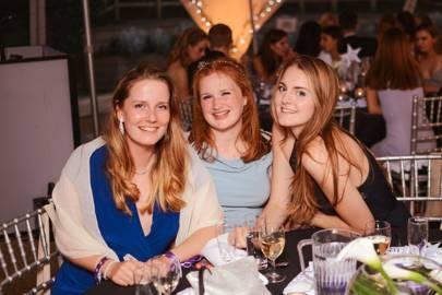 Hannah Tall, Madeleine Aspinall and Claudia Babcock
