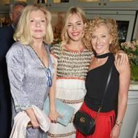 Jo Miller, Sienna Miller and Kelly Hoppen