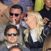 Luke Evans and Poppy Delevingne