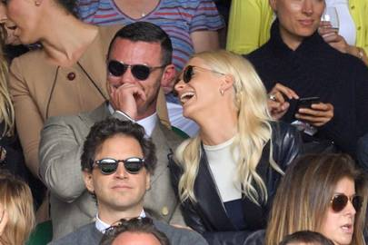 Luke Evans and Poppy Delevingne