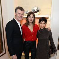 Pierre Denis, Alexa Chung and Sandra Choi