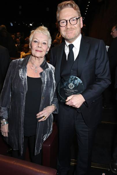 Dame Judi Dench and Sir Kenneth Branagh