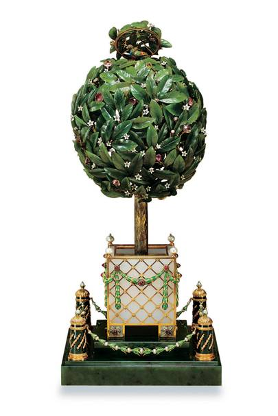 Bay Tree Easter Egg, House of Fabergé, 1911