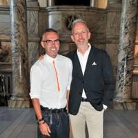 Dan Caten and Patrick Cox