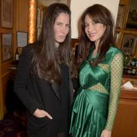 Elizabeth Saltzman and Olga Kurylenko