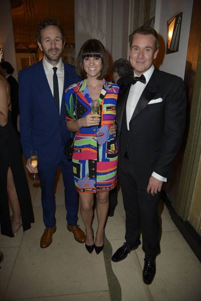 Chris O'Dowd, Dawn O'Porter and William Banks-Blaney
