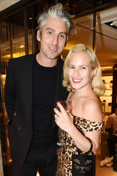 George Lamb and Charlotte Dellal