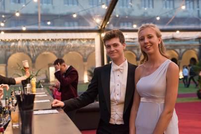 Toby Henley Smith and Amelia Wainwright