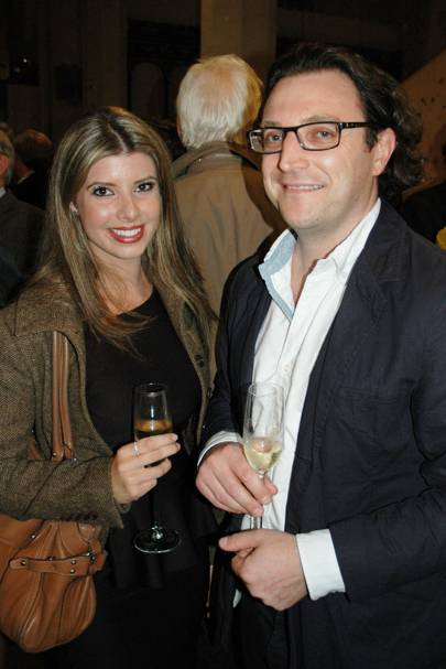Rosalind Ellis and Matt Bourne