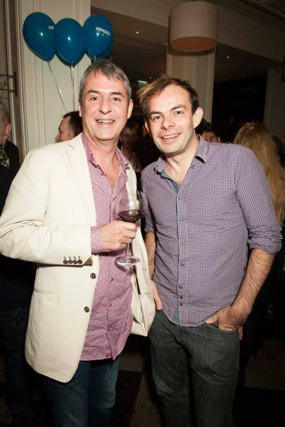 Neil Morrissey and Angus Jackson