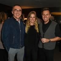 Danny Boyle, Cressida Bonas and Ewan McGregor