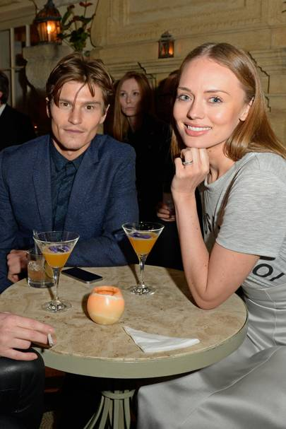 Oliver Cheshire and Laura Haddock