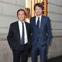 Antoine Arnault and Pietro Beccari