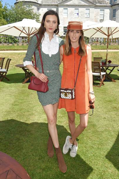 Matilda Lowther and Lady Alice Manners