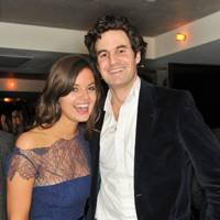 Lady Natasha Rufus Isaacs and Rupert Finch