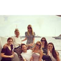 Princess Beatrice and Derek Blasberg have a casual catch-up in St Barths