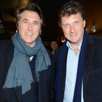 Bryan Ferry and Lord Johnson Somerset