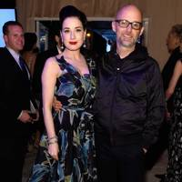 Dita Von Teese and Moby