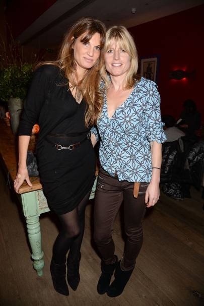 Jemima Khan and Rachel Johnson
