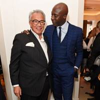 Sir David Tang and Ozwald Boateng, 2016