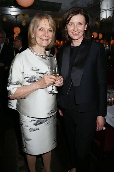 Anna Harvey and Anita Gigovskaya