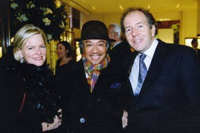 Lady Bruce Dundas, David Tang and Lord Bruce Dundas