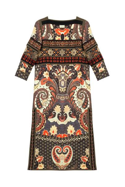 Wool & silk dress, £4,720 by Etro