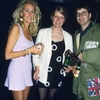 Mrs Roger Pilkington, Mrs David Kennaway and David Kennaway