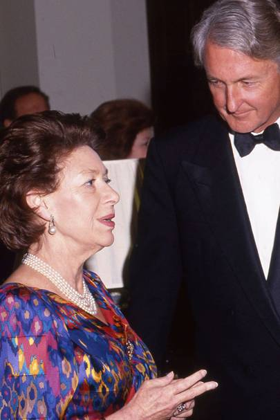 Princess Margaret and Galen Weston