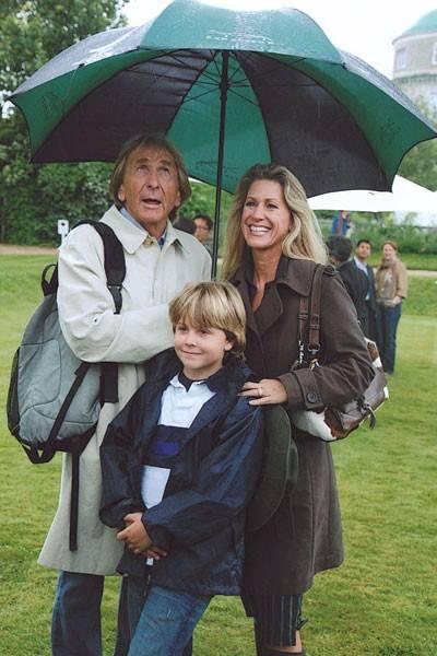 Derek Bell, Sebastian Bell and Mrs Derek Bell