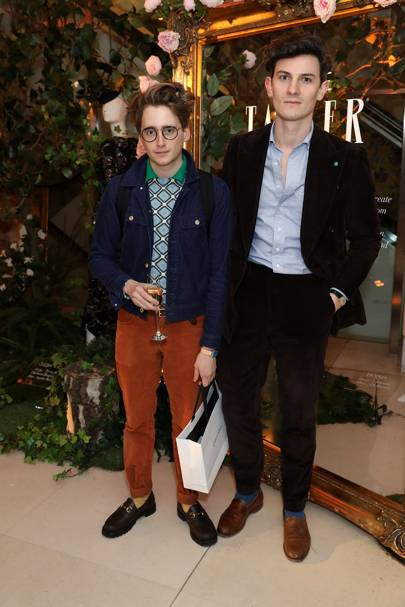 Luke Edward Hall and Duncan Campbell