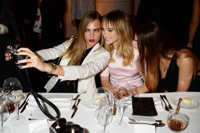 Cara Delevingne, Amber Le Bon and Suki Waterhouse
