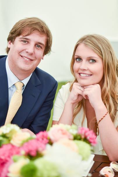 Anton Rupert and Lady Kitty Spencer