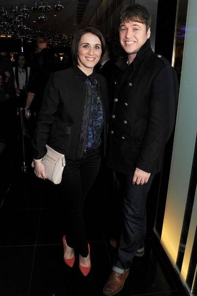 Vicky McClure and Jonathan Owen