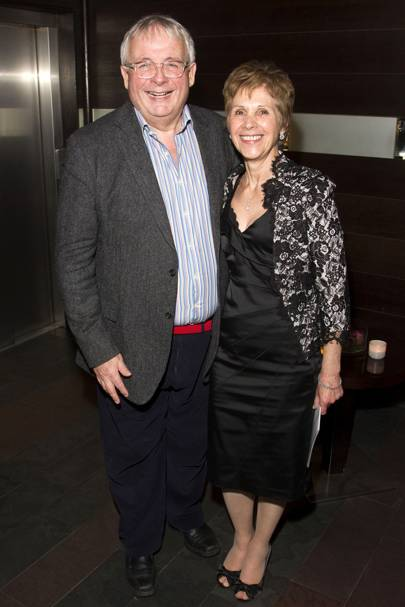 Christopher Biggins and Georgina Simpson