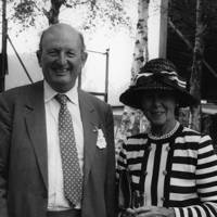 Sir Cecil Burney and Lady Burney