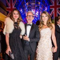 Trinny Woodall, Patrick Cox and Liz Hurley