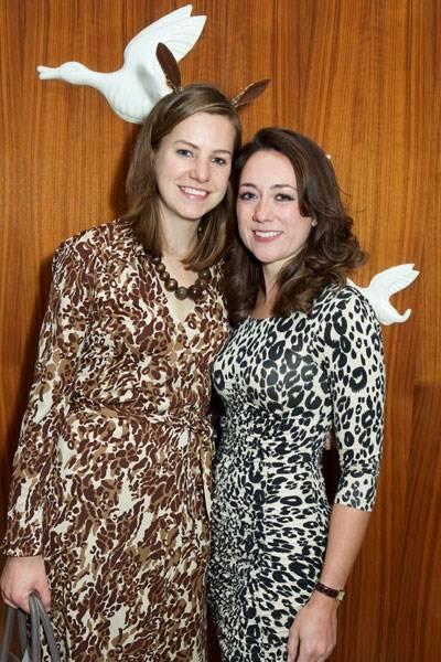 Sarah Hughes and Susannah Prins
