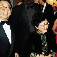 Mr and Mrs Ma Zhengang and Mrs Gervase McCabe